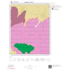 K32d1 Paftası 1/25.000 Ölçekli Vektör Jeoloji Haritası
