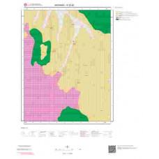 K32d2 Paftası 1/25.000 Ölçekli Vektör Jeoloji Haritası