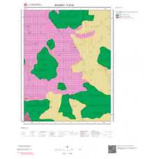 K32d3 Paftası 1/25.000 Ölçekli Vektör Jeoloji Haritası