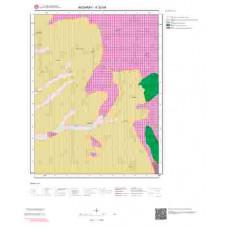 K32d4 Paftası 1/25.000 Ölçekli Vektör Jeoloji Haritası