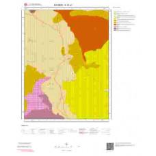 K33a1 Paftası 1/25.000 Ölçekli Vektör Jeoloji Haritası