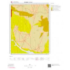 K33a2 Paftası 1/25.000 Ölçekli Vektör Jeoloji Haritası