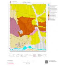 K33a3 Paftası 1/25.000 Ölçekli Vektör Jeoloji Haritası