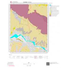 K33a4 Paftası 1/25.000 Ölçekli Vektör Jeoloji Haritası