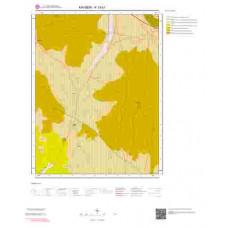 K33b1 Paftası 1/25.000 Ölçekli Vektör Jeoloji Haritası