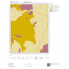 K33b2 Paftası 1/25.000 Ölçekli Vektör Jeoloji Haritası