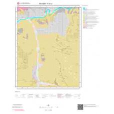 K33c2 Paftası 1/25.000 Ölçekli Vektör Jeoloji Haritası