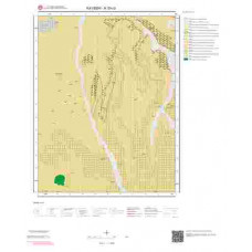 K33c3 Paftası 1/25.000 Ölçekli Vektör Jeoloji Haritası