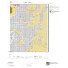 K33c4 Paftası 1/25.000 Ölçekli Vektör Jeoloji Haritası