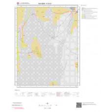 K33d1 Paftası 1/25.000 Ölçekli Vektör Jeoloji Haritası