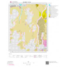 K33d2 Paftası 1/25.000 Ölçekli Vektör Jeoloji Haritası