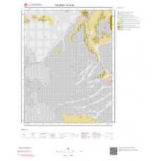 K33d3 Paftası 1/25.000 Ölçekli Vektör Jeoloji Haritası