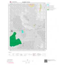 K33d4 Paftası 1/25.000 Ölçekli Vektör Jeoloji Haritası