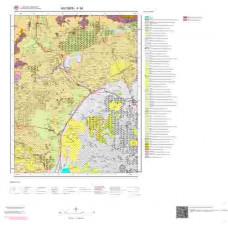 K34 Paftası 1/100.000 Ölçekli Vektör Jeoloji Haritası