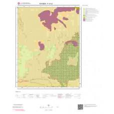 K34a2 Paftası 1/25.000 Ölçekli Vektör Jeoloji Haritası