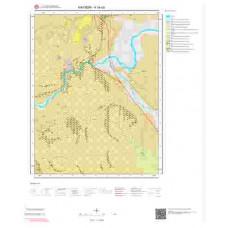 K34a3 Paftası 1/25.000 Ölçekli Vektör Jeoloji Haritası
