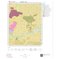 K34a4 Paftası 1/25.000 Ölçekli Vektör Jeoloji Haritası