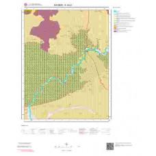 K34b1 Paftası 1/25.000 Ölçekli Vektör Jeoloji Haritası