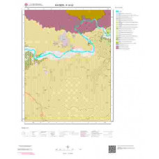 K34b2 Paftası 1/25.000 Ölçekli Vektör Jeoloji Haritası
