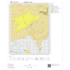 K34b3 Paftası 1/25.000 Ölçekli Vektör Jeoloji Haritası