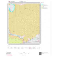 K34b4 Paftası 1/25.000 Ölçekli Vektör Jeoloji Haritası