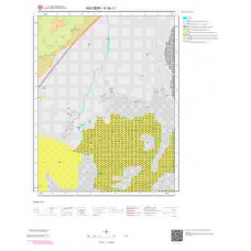 K34c1 Paftası 1/25.000 Ölçekli Vektör Jeoloji Haritası