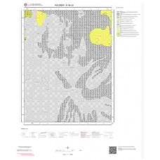K34c3 Paftası 1/25.000 Ölçekli Vektör Jeoloji Haritası