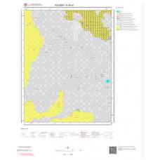 K34c4 Paftası 1/25.000 Ölçekli Vektör Jeoloji Haritası
