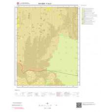 K34d1 Paftası 1/25.000 Ölçekli Vektör Jeoloji Haritası