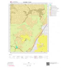 K34d2 Paftası 1/25.000 Ölçekli Vektör Jeoloji Haritası