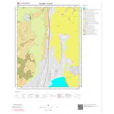 K34d3 Paftası 1/25.000 Ölçekli Vektör Jeoloji Haritası