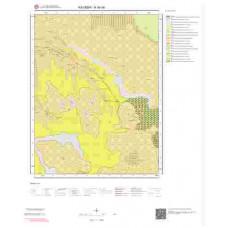 K34d4 Paftası 1/25.000 Ölçekli Vektör Jeoloji Haritası