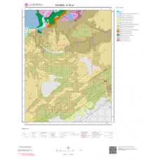 K35a1 Paftası 1/25.000 Ölçekli Vektör Jeoloji Haritası
