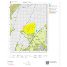 K35a4 Paftası 1/25.000 Ölçekli Vektör Jeoloji Haritası