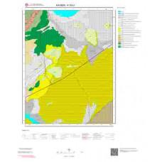 K35b1 Paftası 1/25.000 Ölçekli Vektör Jeoloji Haritası