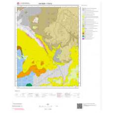 K35b3 Paftası 1/25.000 Ölçekli Vektör Jeoloji Haritası
