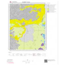 K35c4 Paftası 1/25.000 Ölçekli Vektör Jeoloji Haritası