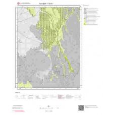 K35d1 Paftası 1/25.000 Ölçekli Vektör Jeoloji Haritası
