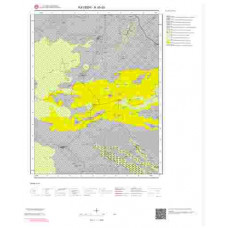 K35d3 Paftası 1/25.000 Ölçekli Vektör Jeoloji Haritası