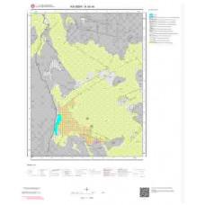 K35d4 Paftası 1/25.000 Ölçekli Vektör Jeoloji Haritası