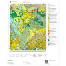 K 39 Paftası 1/100.000 ölçekli Jeoloji Haritası