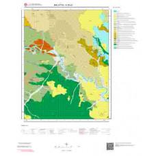 K39a1 Paftası 1/25.000 Ölçekli Vektör Jeoloji Haritası