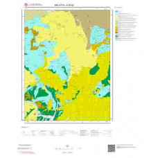 K39a2 Paftası 1/25.000 Ölçekli Vektör Jeoloji Haritası