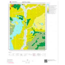 K39a3 Paftası 1/25.000 Ölçekli Vektör Jeoloji Haritası