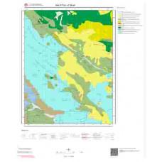 K 39-a4 Paftası 1/25.000 ölçekli Jeoloji Haritası