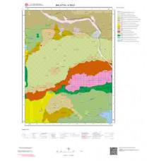 K39b1 Paftası 1/25.000 Ölçekli Vektör Jeoloji Haritası