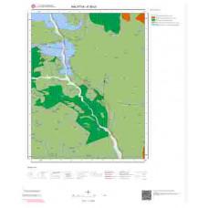K39b3 Paftası 1/25.000 Ölçekli Vektör Jeoloji Haritası
