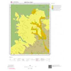 K39c1 Paftası 1/25.000 Ölçekli Vektör Jeoloji Haritası