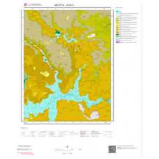 K39c3 Paftası 1/25.000 Ölçekli Vektör Jeoloji Haritası
