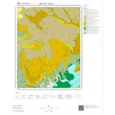 K39c4 Paftası 1/25.000 Ölçekli Vektör Jeoloji Haritası